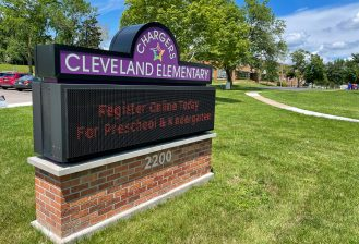 exterior of cleveland elementary school