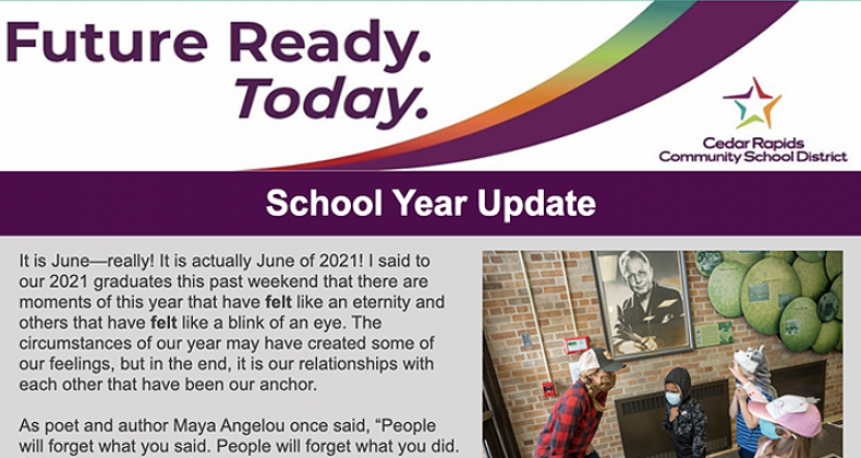 Future Ready Today Newsletter