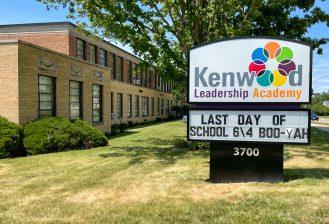 exterior of kenwood leadership academy