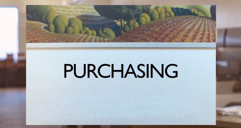 Purchasing Department graphic