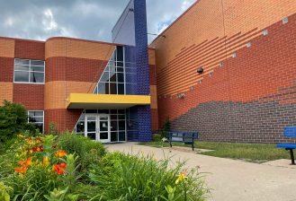 exterior of viola gibson elementary school