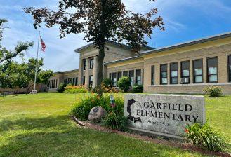 exterior of garfield elementary school