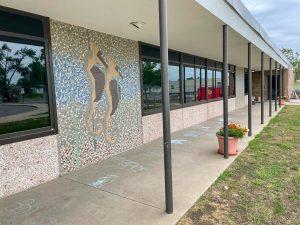 exterior of Grant Elementary School