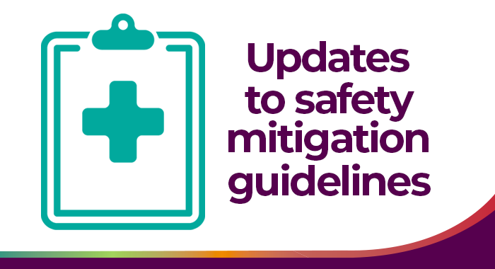 Safety Mitigation guidelines