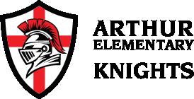 School logo arthur elementary