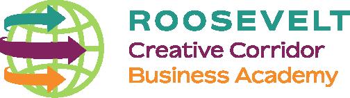 School logo roosevelt creative corridor business academy