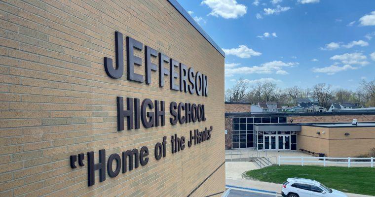 outside of Jefferson High School