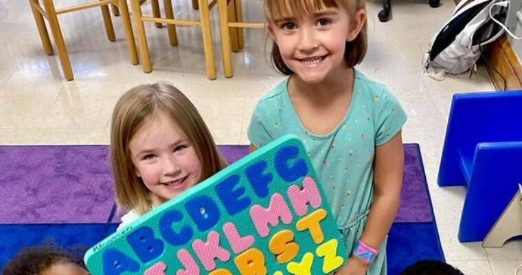 learning our alphabet