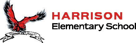 School logo harrison elementary school