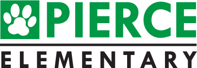 School logo pierce elementary