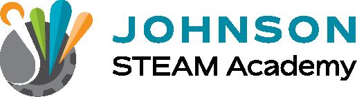 School logo johnson steam academy