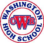 School logo washington high school