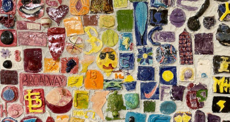 Mosaic of tiles