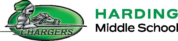 School logo harding middle school
